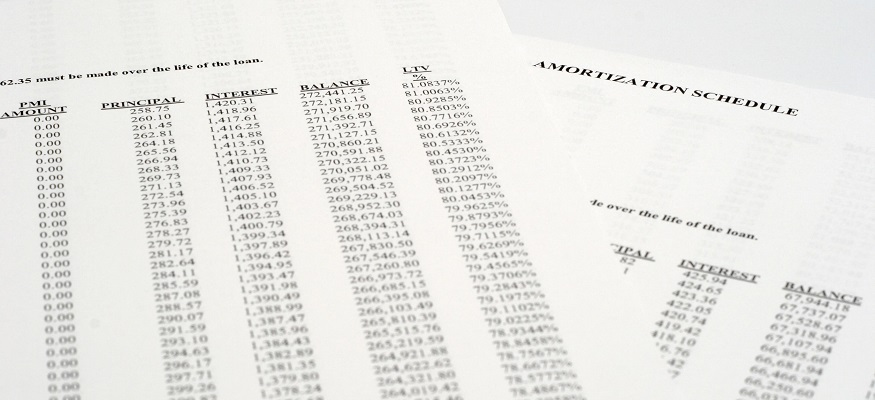 What is an amortization schedule? Use this chart to pay off